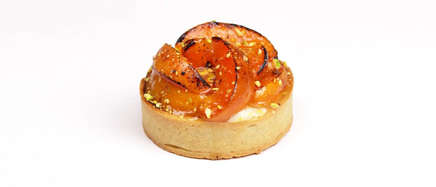Apricot Brûlée Tart