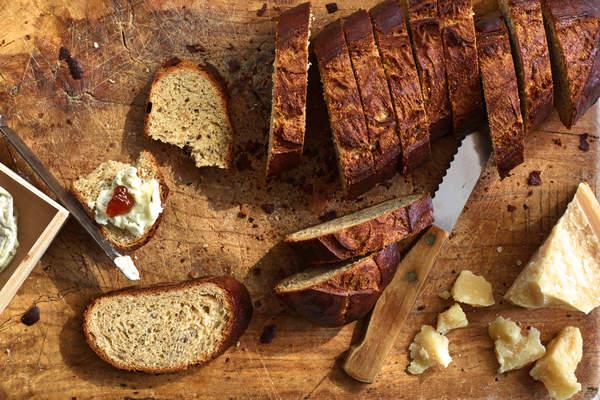 Hazelnut Bread Recipe (by Bien Cuit Bakery)