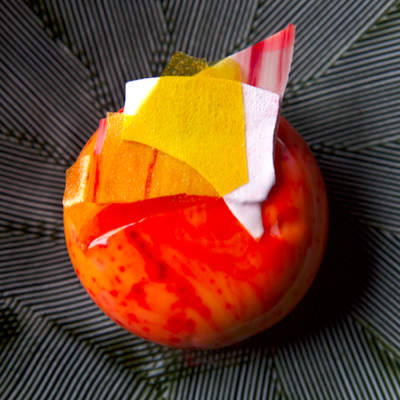 Thai Tropicalé Entremet Recipe (Mirror Glaze Cake)